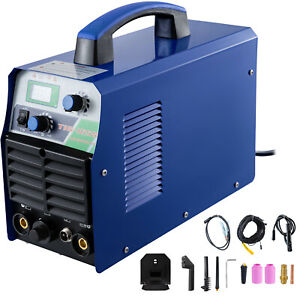 Tig 165s 160 Amp Tig Torch Stick Arc Dc Inverter Welder 110 230v Dual Voltage