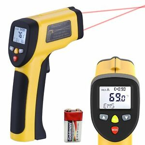 Lurico Infrared Thermometer Helect Non contact Digital Laser Temperature Gun