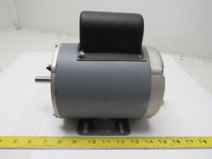 Baldor 10035p 1 4hp 1700rpm 115 230v 60hz 1ph 48 Frame Electric Ac Motor