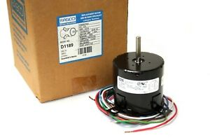 Fasco D1189 Replacement Oem Condenser Fan Motor Shaded Pole 1 20 Hp
