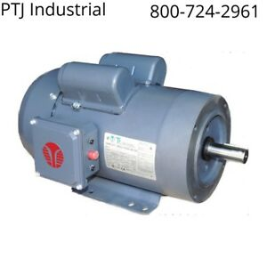 1 5 Hp Electric Motor 145tc 1800 Rpm Single Phase Farm Duty C face