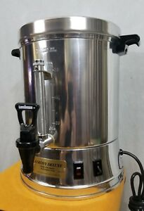Commercial Coffee Urn Cup Capacity Restaurant Equip