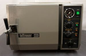 Autoclave Tuttnauer 2540m Sterilizer 120volt Warranty Dental Vet Medical Steam