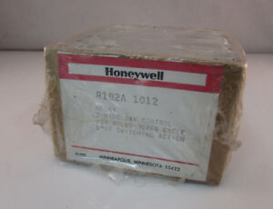 Honeywell R182a1012 Electric Heater 24v Relay W Spst switching 208v