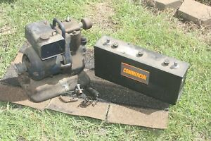 Wards Airline 6 Volt Generator Complete With Exide Battery In The Dry 37 Amp