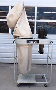 Delta Dust Collector 1 5 Hp 115 230 V Ac 1200 Cfm Model 50 760