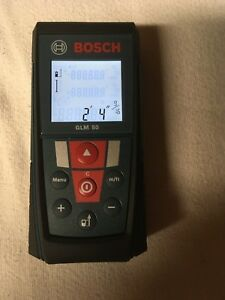 Bosch Glm 50 Laser Distance Measurer With 165 feet Range And Back Lit Display
