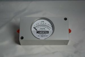 Hydraulic Flow Meter 6 000 Psi 0 Gpm To 48 Gpm No Thermometer