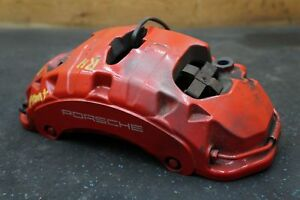 Front Right Brake Caliper Red 7pp615150ak Oem Porsche Cayenne Turbo 958 2011 16