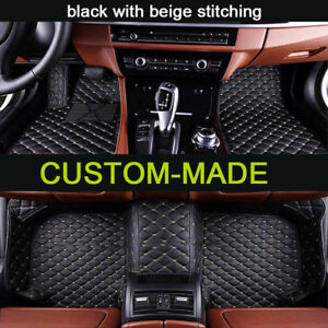 Car Floor Mats For Ford Mustang 2014 2018 Non Slip Waterproof All Weather Mats