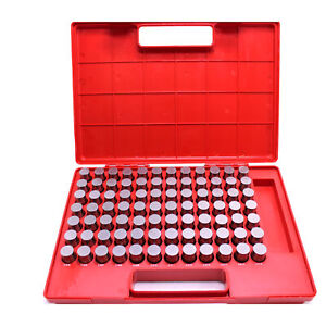 Hfs r Steel Pin Gauge Set 82pcs M5 751 832 Class Zz