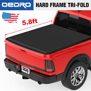 Oedro Fit For 2009 2018 Dodge Ram 1500 5 8 Truck Bed Tonneau Cover