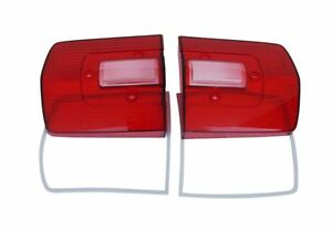 68 Roadrunner gtx Tail Light Lenses Sold As A Pair Oe Perfect