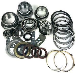 Ford Zf S6 650 6 Speed Manual Transmission Rebuild Kit Synchros 99 On Bk486ws