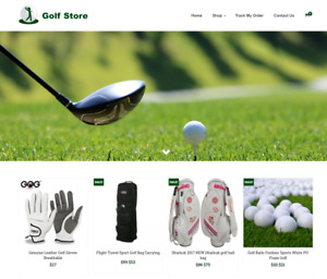 Established Golf Turnkey Website Business For Sale Profitable Dropshipping