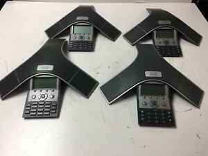 Lot Of 4 Cisco Ip Conference Station 7937 cp 7937g 2201 40100 001