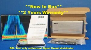 Signal Hound Bb60c Real Time Spectrum Analyzer Rf Recorder 6 Ghz W Option 01