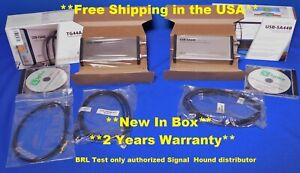 Signal Hound Usb Sa44b Usb Tg44a 4 4 Ghz Scalar Network Analyzer