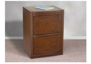 File Cabinet 2 drawer Deluxe Cherry Vertical Z line Locking Top Drawer