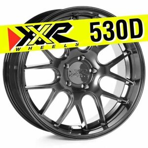 Xxr 530d 18x9 5x100 35 Chromium Black Wheels Set Of 4