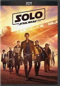 Star Wars: Solo (DVD 2018) Now Shipping wtracking number.