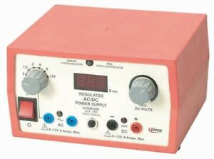 Eisco Labs Power Supplies Low Voltage Ac Dc 12v 6a