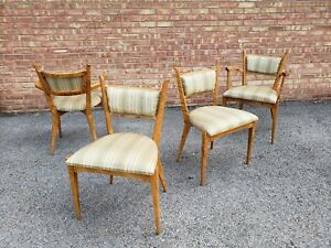 Edmund Spence Dining Chairs And Table Mid Century Modern