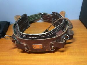 Bashlin Industries Lineman s Climbing Safety Belt D25 Excellent Condition