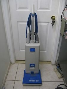 Windsor Sensor S12 Commercial Upright Vacuum Cleaner Works Well New Bag