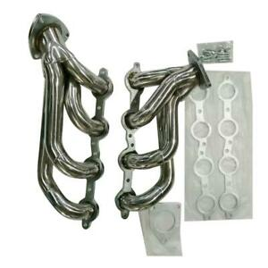 Stainless Racing Manifold Shorty Header Exhaust For Chevy Silverado 1500 2500hd