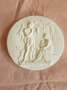 1 Lovers Hunting Scene Grand Tour Cameo Intaglio Medallion Seal Plaster Tassie