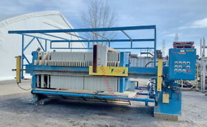 Used Perrin Filter Press 1200 Mm X 1200 Mm Squeeze Plates