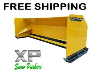 10 Xp36 Jrb 416 Snow Pusher Backhoe Loader Express Steel Free Shipping rtr