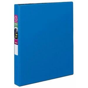 New Avery 1 Navy Blue Durable Slant Ring Binders 12pk 27251 Free Shipping