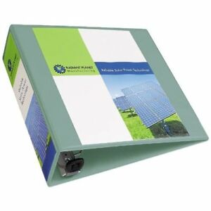 Avery 3 Sea Foam Green Heavy Duty View Binders With One Touch Ezd Ring 4pk