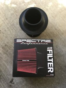 Spectre Performance Air Filter W Built In Velocity Stack 3 Inch