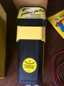 American Farmworks Electric Fence Controller Powers 10 Miles yellow Jacket