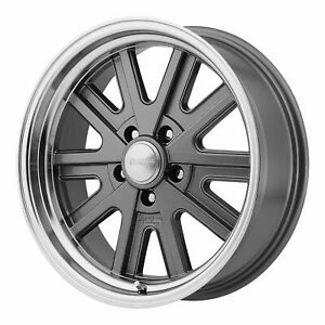 American Racing 17x9 Vn527 427 Mono Cast Wheel Mag Gray Machined 5x4 5 114 3 0