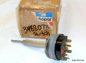 Nos Mopar 1971 Dodge Charger Plymouth Variable Speed Wiper Switch Pn 3488073