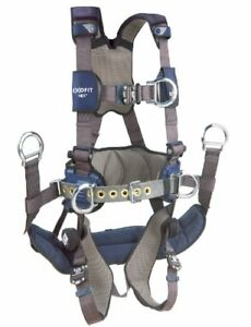 3m Dbi sala 1113191 Exofit Nex Tower Climbing Vest style Full Body Harness Med
