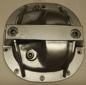 Ford Mustang 8 8 Rear Aluminum Differential Cover Silver Girdle 1979 2014 Blem12