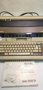 Royal Beta 9000 Typewriter