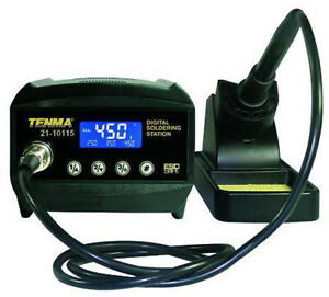 New Tenma Compact Digital Soldering Station 60w Lcd Esd Safe 3 Programmable
