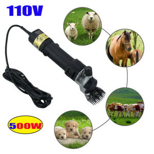 500w Electric Shears Clippers Goat Sheep Animal Shave Grooming Farm Supplies Wr