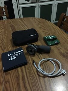 Welch Allyn Sphygmomanometer Ds66 Includes Pediatric And Adult Reusable Cuffs