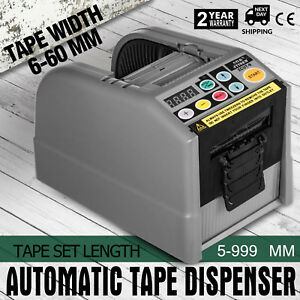 Ce Automatic Tape Dispenser Tape Cutter W Memory Function Zcut 9