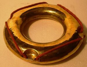 Nautical Brass Life Boat Ring Life Buoy Collectibles Marine Maritime