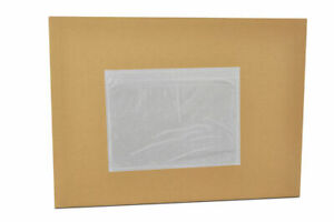 Clear Packing List 7 5 X 5 5 Plain Face Envelopes Top Load 3000 Pieces
