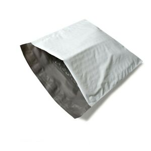 Poly Bubble Mailer White grey Padded 6 5 X 10 0 Bags 1000 Pieces
