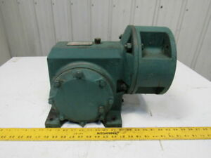 Reliance 180wm28a Right Angle Gear Box Speed Reducer 25 1 Ratio